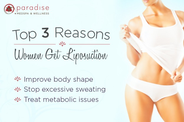 Top 3 Reasons Women Get Liposuction