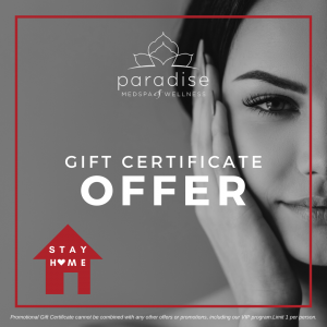 Paradise Gift Certificate Offer
